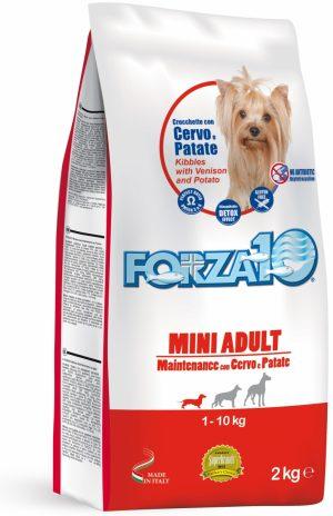 Forza10 Mini maintenance z jeleniem i ziemniakami 2kg - sucha karma dla psów