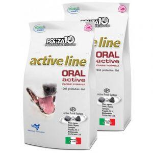 Forza10 Oral Active 2 x 4kg Pysk – sucha karma dla psów