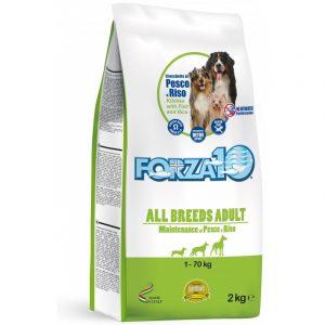 Forza10 All Breeds Maintenance z rybą i ryżem 2kg – sucha karma dla psa