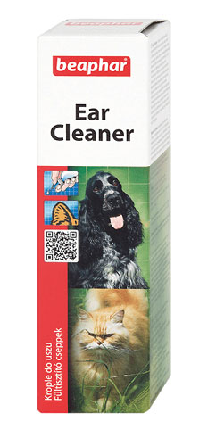 beaphar ear cleaner krople do pielegnacji uszu dla psa i kota 50ml 1