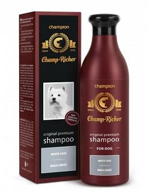 champ richer szampon dla psow o bialej siersci 250ml 1