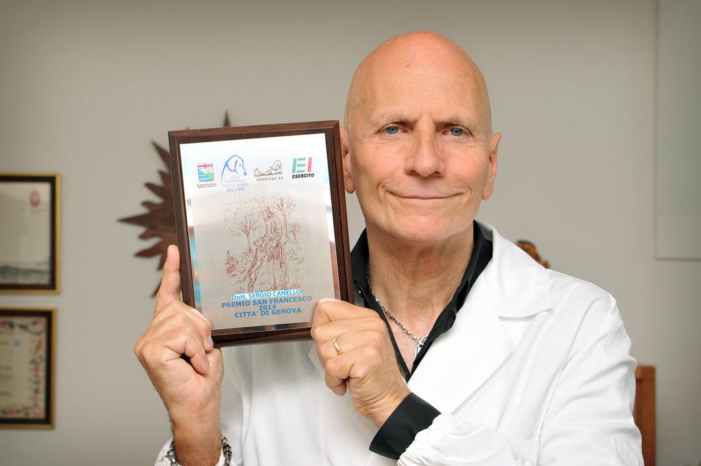 dr Sergio Canello jest cenionym znawcą w zakresie żywienia psów i kotów